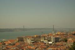 Vista Lisbona Fotografie Stock Libere da Diritti