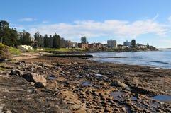 Vista litoral Imagens de Stock