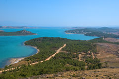 Vista litoral Fotos de Stock