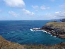 Vista litoral atlântica Fotografia de Stock Royalty Free