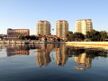 Vista litoral de St Petersburg Imagens de Stock Royalty Free