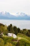 Vista lontana del parco nazionale e della prerogativa di Katmai Fotografia Stock Libera da Diritti