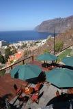A vista - Los Gigantes Tenerife fotos de stock