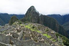 Vista Machu Picchu, Perù Fotografia Stock