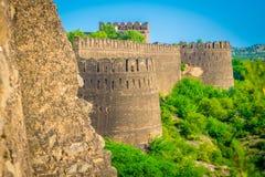 Vista maestosa della fortificazione di Rohtas Fotografia Stock