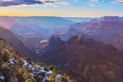 Vista maestosa di Grand Canyon Fotografie Stock Libere da Diritti