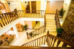 Vista magnífica de una casa de lujo Fotografía de archivo libre de regalías