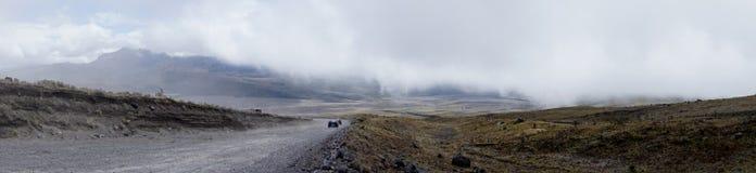 A vista magnífica no pé de Cotopaxi Fotografia de Stock Royalty Free