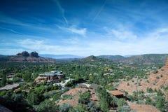 A vista majestosa de Sedona Fotografia de Stock