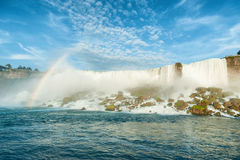 Vista majestosa no Niagara Falls foto de stock royalty free