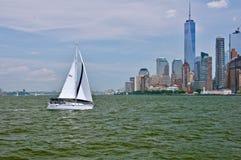 Vista a Manhattan Immagine Stock Libera da Diritti