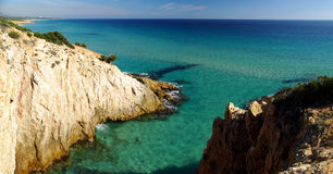 Vista maravilhosa da costa de S.Margherita Foto de Stock Royalty Free