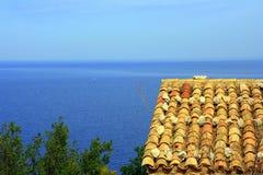 Vista mediterrânea Foto de Stock Royalty Free