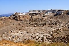 Vista in Megalochori. Royalty Free Stock Image