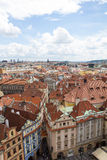 Vista meravigliosa alla città di Praga in repubblica Ceca Immagini Stock Libere da Diritti