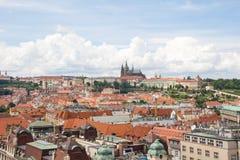 Vista meravigliosa alla città di Praga in repubblica Ceca Fotografia Stock Libera da Diritti