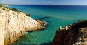 Vista meravigliosa del litorale di S.Margherita Fotografia Stock Libera da Diritti