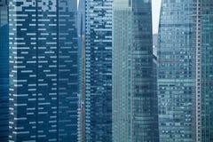 Vista moderna degli edifici per uffici Fotografia Stock Libera da Diritti