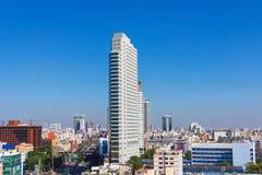 Vista moderna della città di Bangkok, Tailandia cityscape Immagini Stock Libere da Diritti