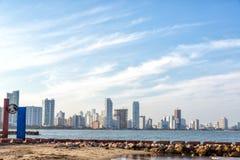 Vista moderna di Cartagine Fotografia Stock Libera da Diritti