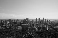 Vista Mont-reale Immagini Stock