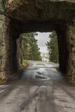 Vista Mt Rushmore del tunnel Fotografie Stock