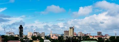 vista muito agradável de conakry fotos de stock