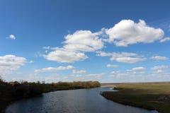 Vista muito agradável no Samara Fotografia de Stock