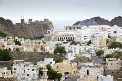 Vista a Muscat Immagini Stock Libere da Diritti