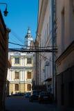 Vista na abóbada de Kunstkamera Imagens de Stock Royalty Free