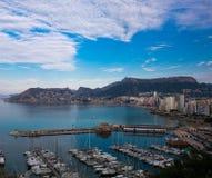 Vista na baía bonita Imagem de Stock Royalty Free
