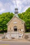 Vista na basílica próxima comemorativa Sainte Anne de Beaupre da capela em Canadá Foto de Stock Royalty Free