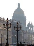 Vista na catedral Fotos de Stock Royalty Free
