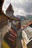 Vista na cidade velha de Tallinn. Estónia Imagem de Stock Royalty Free