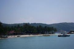Vista na ilha de Redang de Malásia Fotografia de Stock Royalty Free