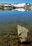 Vista na montagem Fanaraken, Noruega. Foto de Stock Royalty Free