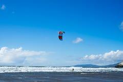 A vista na praia do oceano, praia do oceano, San Francisco imagens de stock