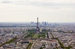 Vista na torre Eiffel fotografia de stock royalty free