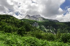 Vista nas montanhas na Espanha Foto de Stock
