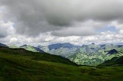 Vista nas montanhas na Espanha Fotos de Stock