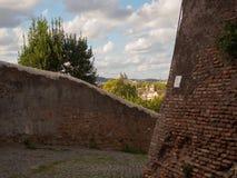 Vista nascosta su Roma Immagine Stock