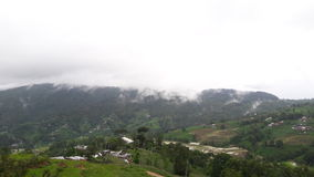 Vista naturale della molla del Nepal Fotografie Stock Libere da Diritti