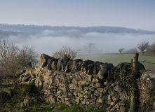 Misty View Fotografia Stock Libera da Diritti