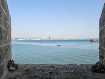 Vista nel mare Immagini Stock