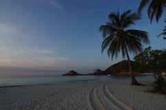Vista nell'isola di Redang della Malesia fotografia stock