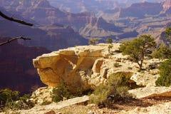 Vista nella gola del fiume Colorado Fotografia Stock Libera da Diritti