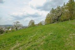 Vista a Neusalza Spremberg Imagen de archivo libre de regalías