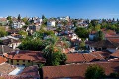 Vista no Antalya, Turquia Fotografia de Stock