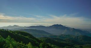 Vista no chinangmai da montanha do inthanon Fotografia de Stock