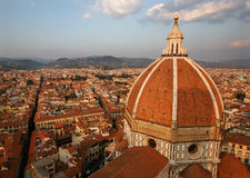 Vista no domo de Florença Imagens de Stock Royalty Free